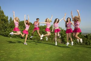 (2011 Finals/Los Angeles) Playmates are lighter than air