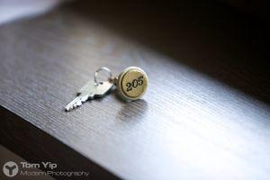 My hotel room key (Austria)